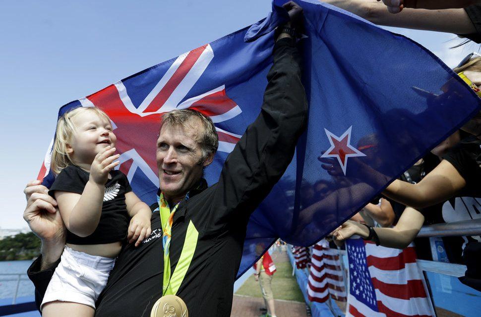 Momente adorabile cu atleții de la Jocurile Olimpice de la Rio și copiii lor