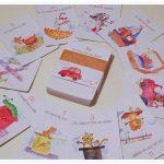 Cum ne jucăm cu cartonașele educative de la Hippo Atelier și un concurs