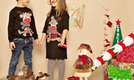 Cele mai cool haine pentru copii cu motive de Crăciun