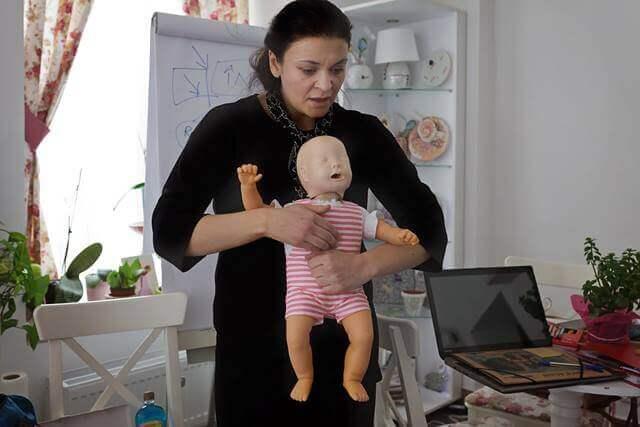Primul ajutor la bebelusi