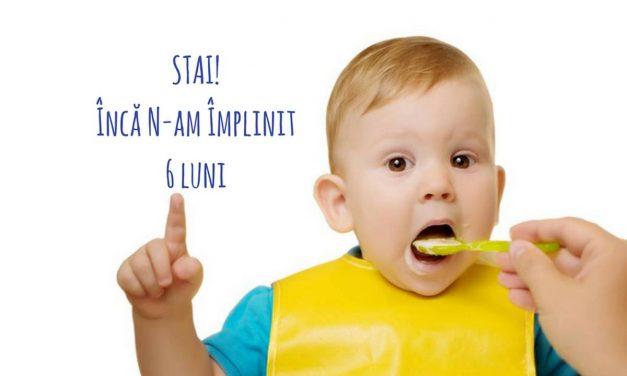 #DiversificareSănătoasă. Când începem diversificarea alimentelor la bebeluși? Recomandări oficiale