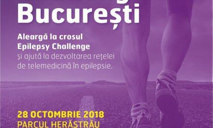 #Eveniment. Pe 28 octombrie alergăm pentru sprijinirea persoanelor cu epilepsie
